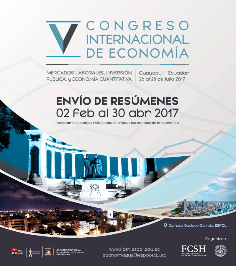 V Congreso Internacional de Economía