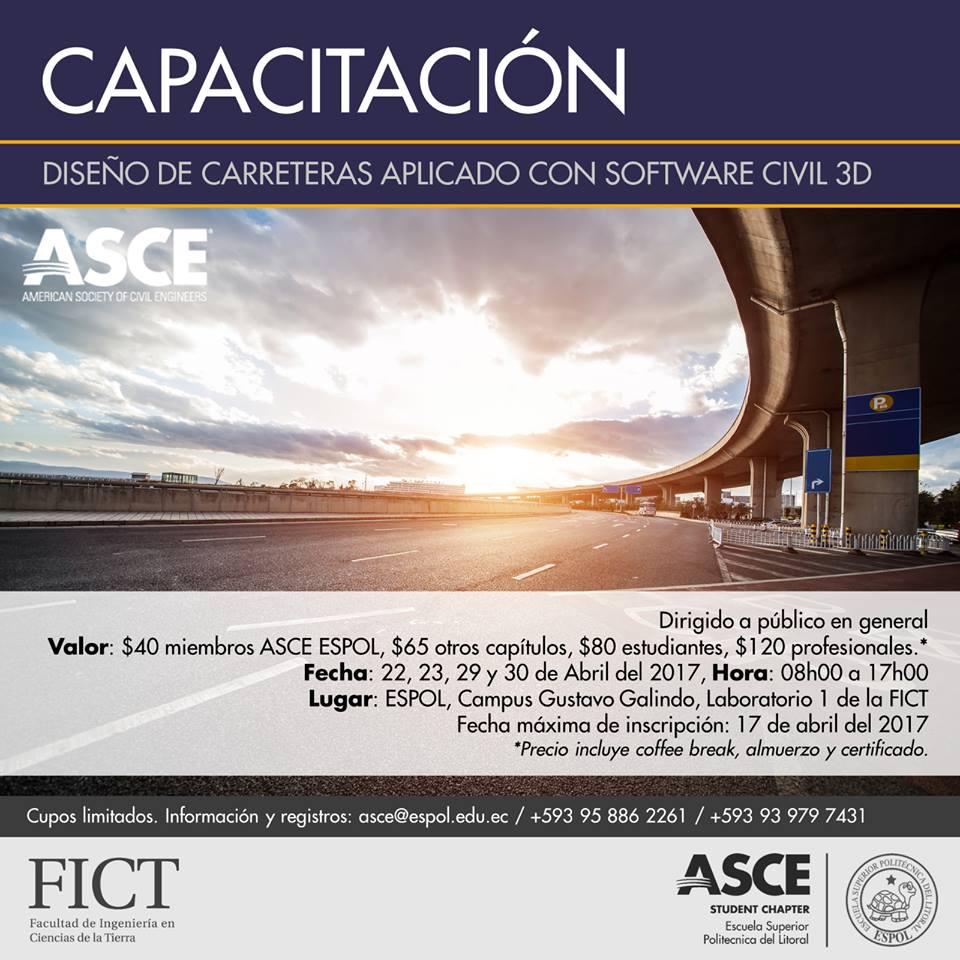 Diseño de carreteras aplicado con software civil 3D