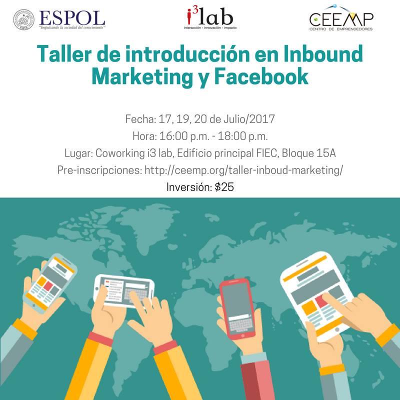 Taller de Introducción de Inbound Marketing y Facebook