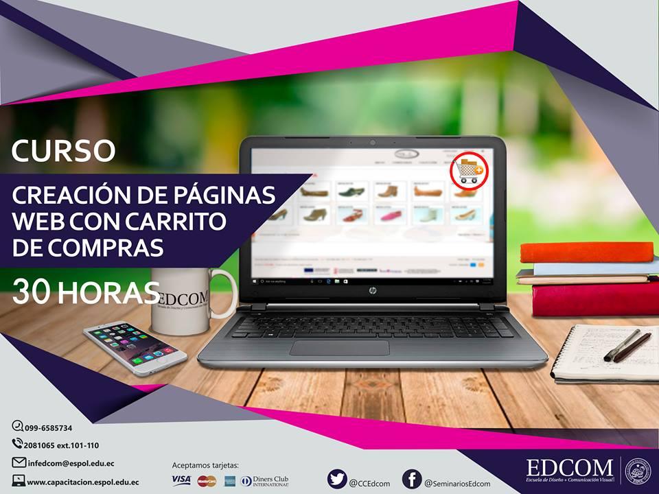 Curso: Creación de páginas web con carrito de compras