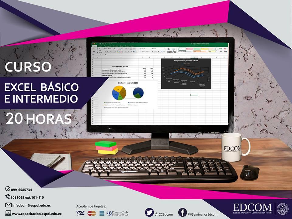 Curso: Excel Básico e Intermedio