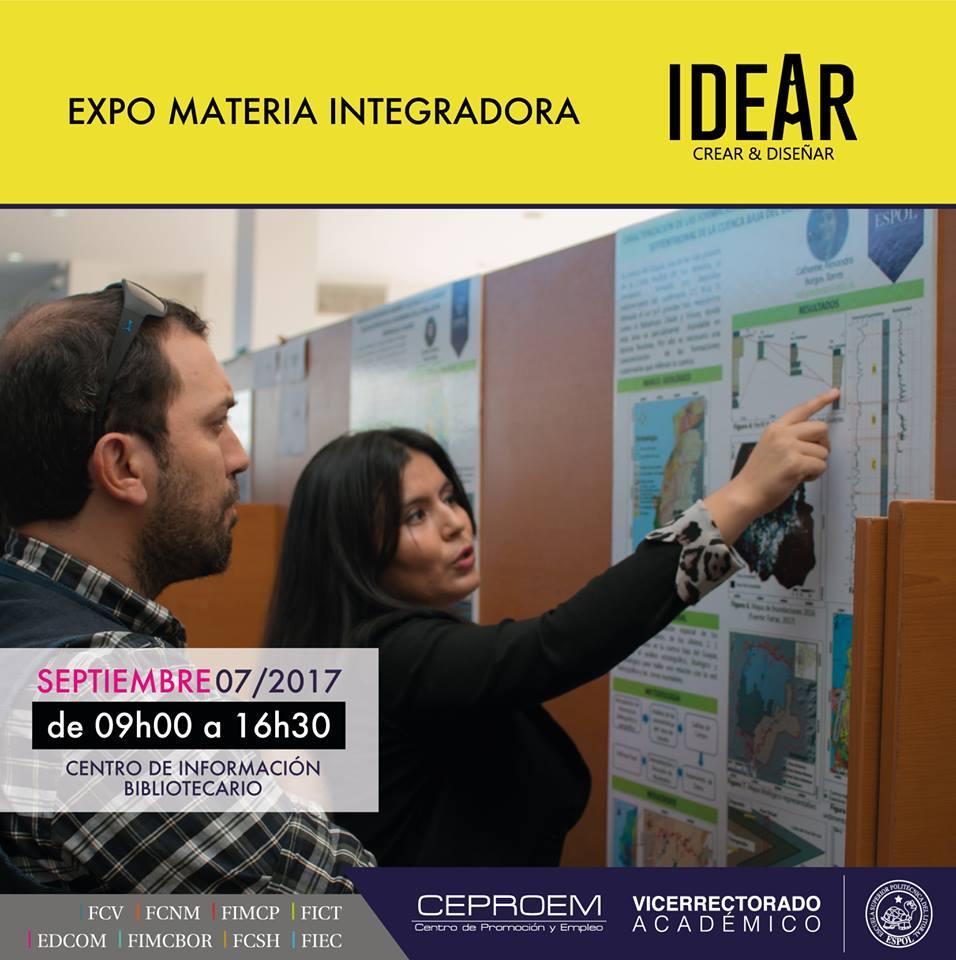 Expo Materia Integradora Idear, Crear y Diseñar