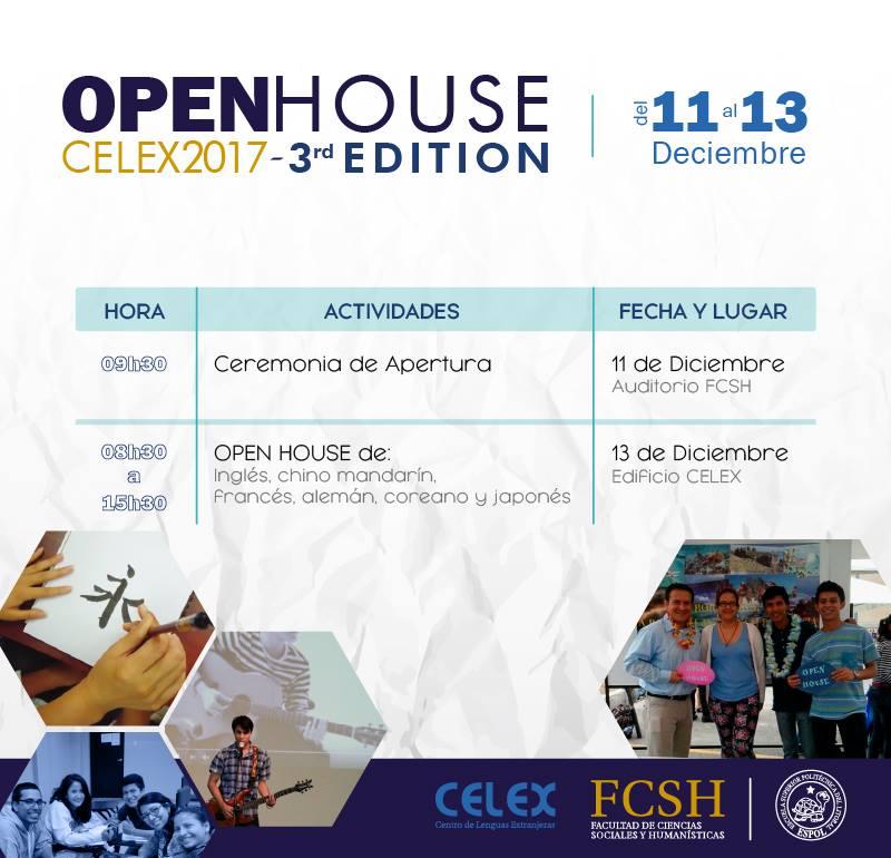 Open House CELEX 2017