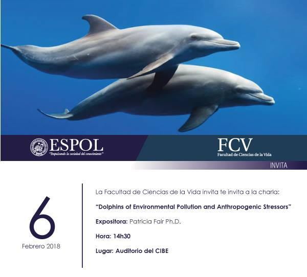Charla: Dolphins of enviromental poluttion and antropogenic stressors