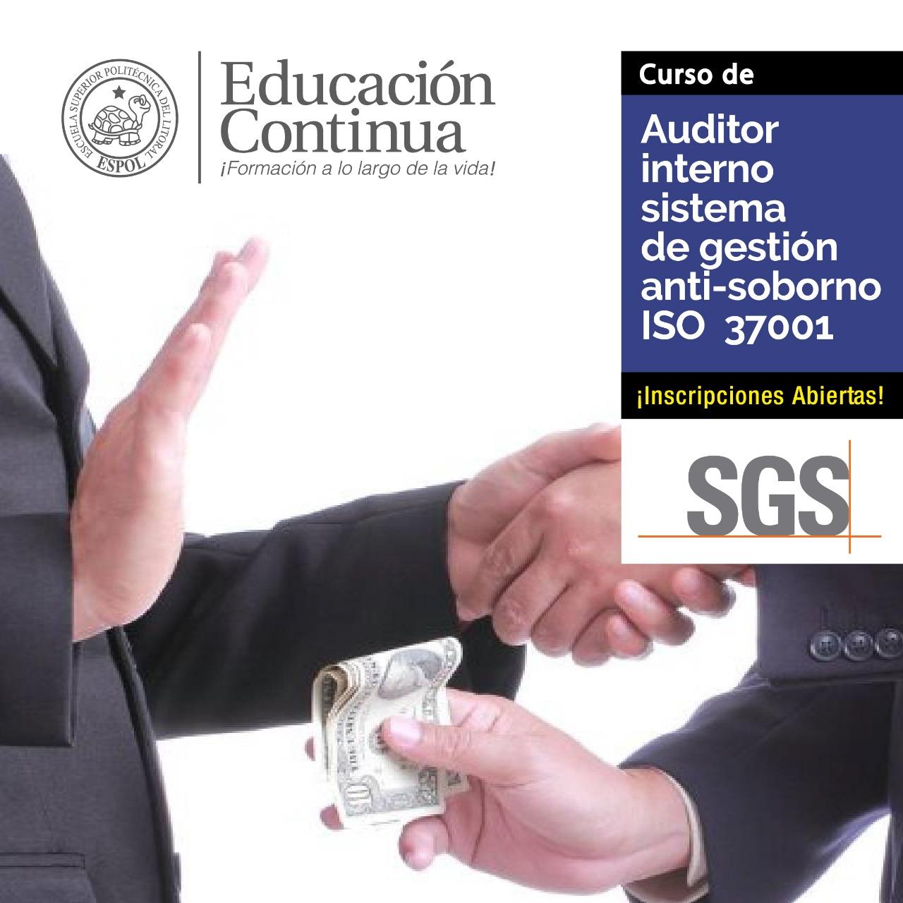Auditor Interno ISO 9001:2015 con simulación -en alianza con SGS