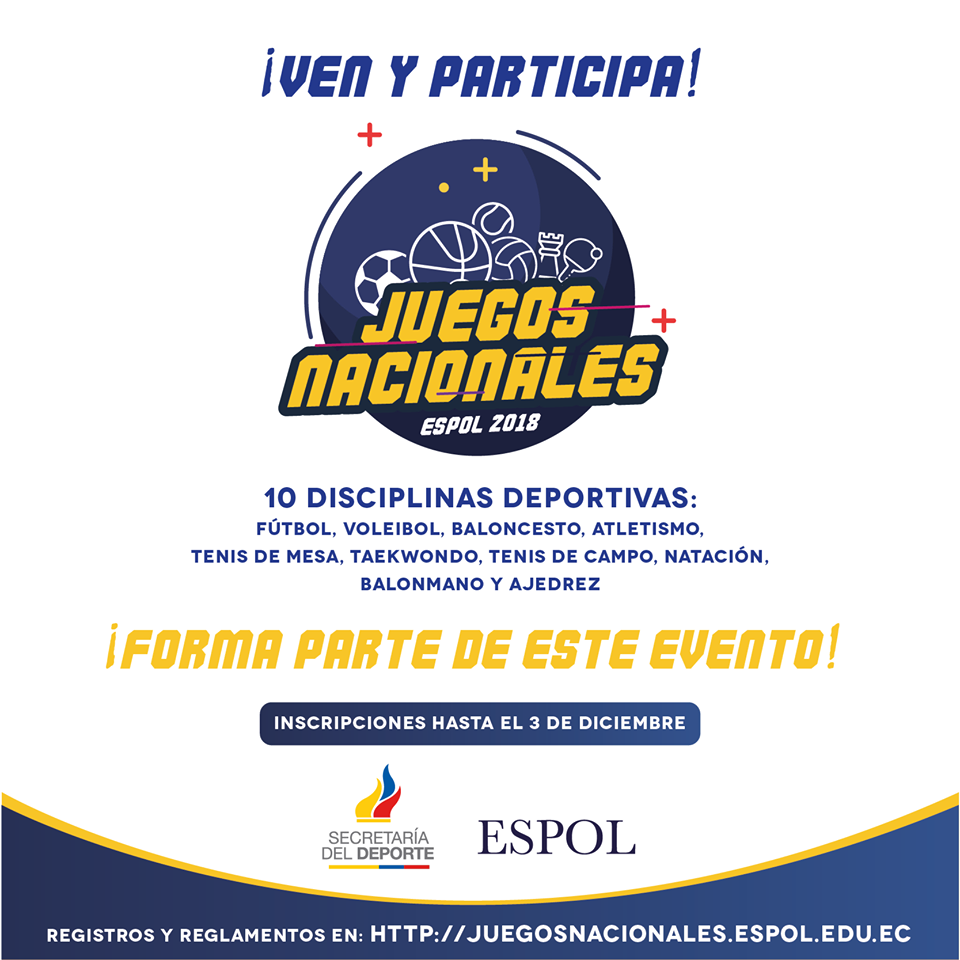 Juegos Nacionales Espol 2018