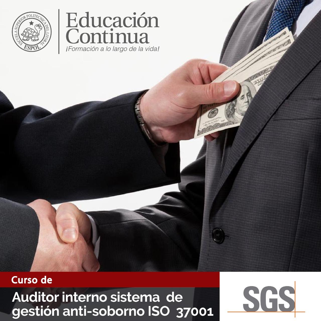 Auditor Interno 37001:2016 -  en alianza con SGS