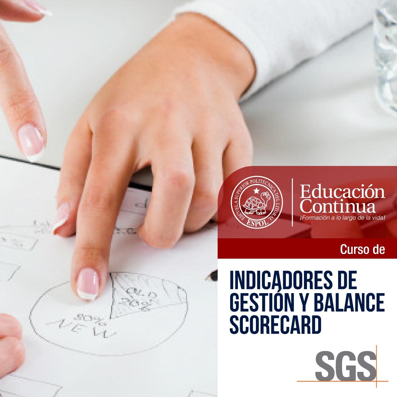 Indicadores de Gestión y Balance Scored Card -en alianza con SGS