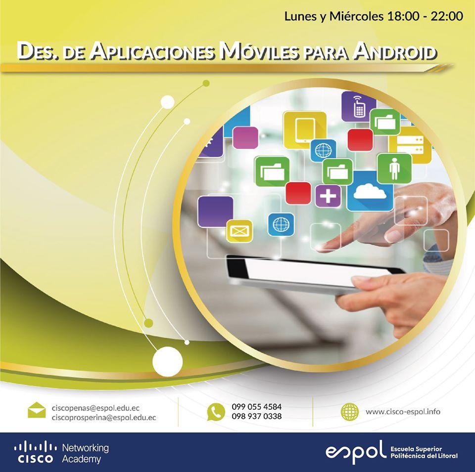 Curso: Desarrollo de Aplicaciones Móviles para Andorid