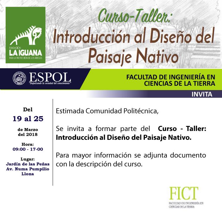 Taller: Introducción al diseño del paisaje nativo