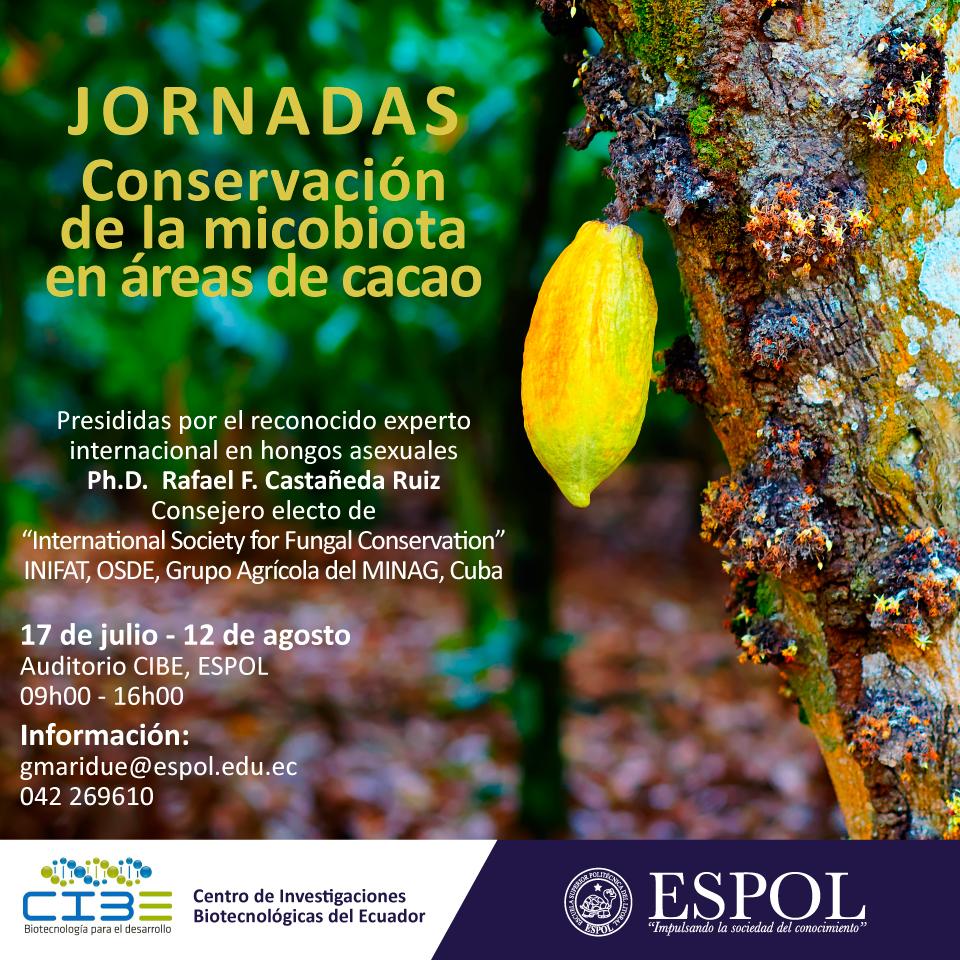 Jornadas Conservación de la Micobiota en áreas de cacao