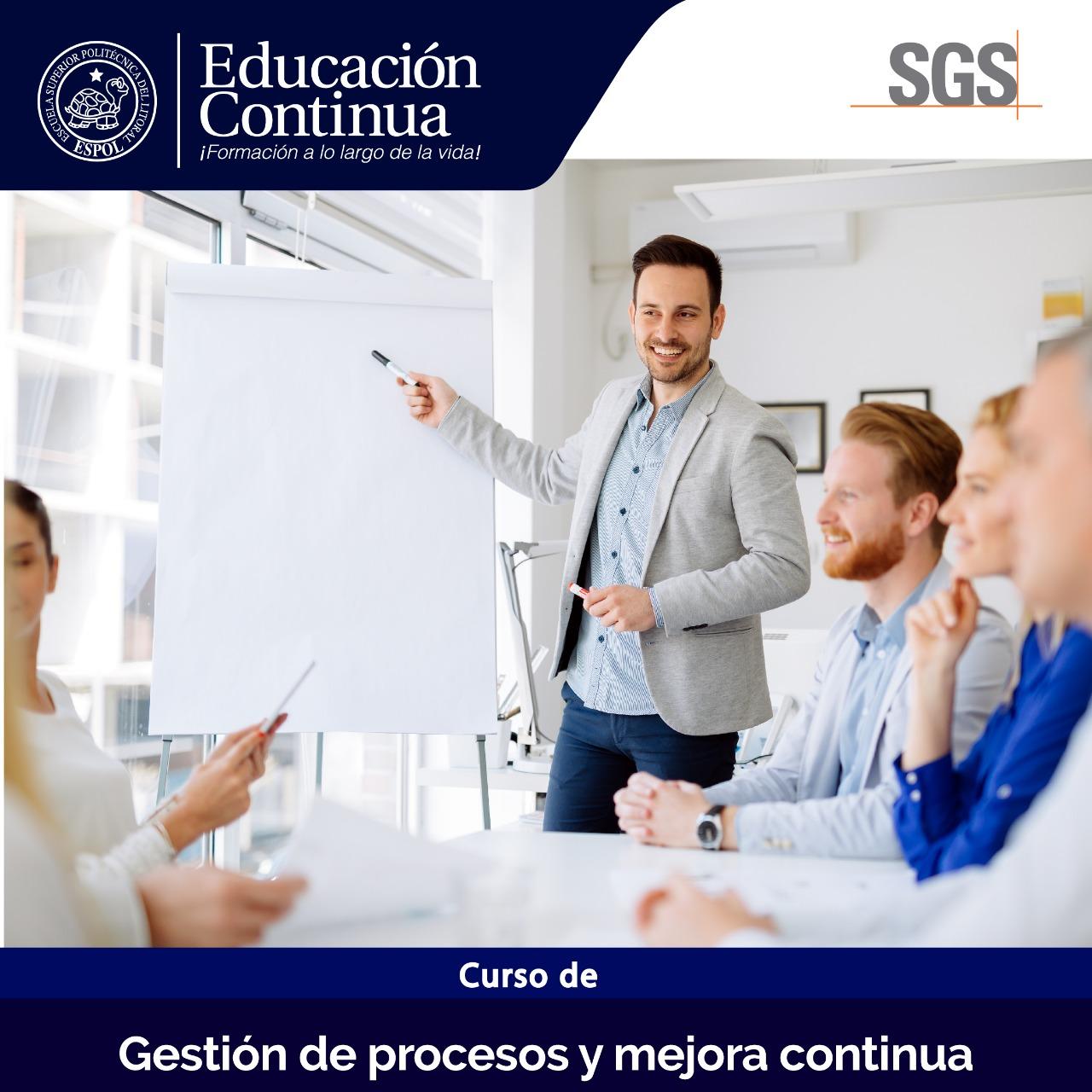 Gestión por Procesos (en alianza con SGS)
