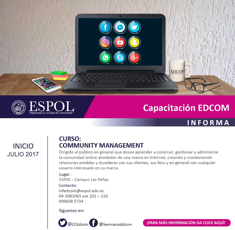 Curso: Community Managenment
