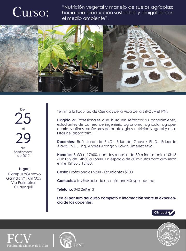 Nutrición vegetal y manejo de suelos agrícolas: Hacia una producción sostenible y amigable con el medio ambiente