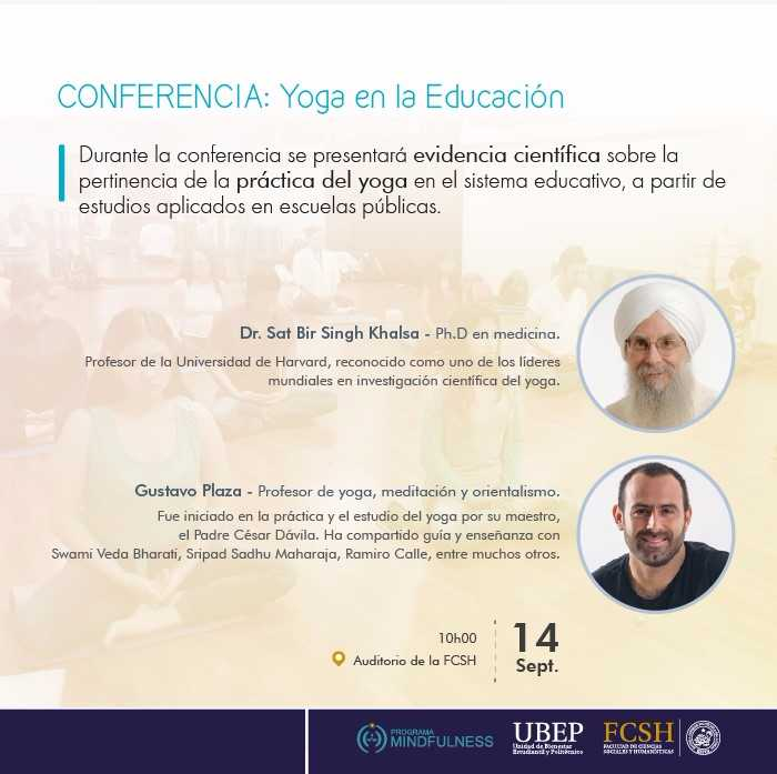 Conferencia: Yoga en la Educación